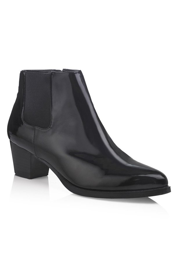 BFT Celena Patent ankle boot