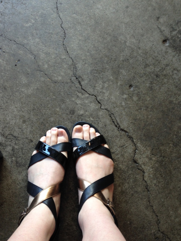 Shoes of Prey sandal
